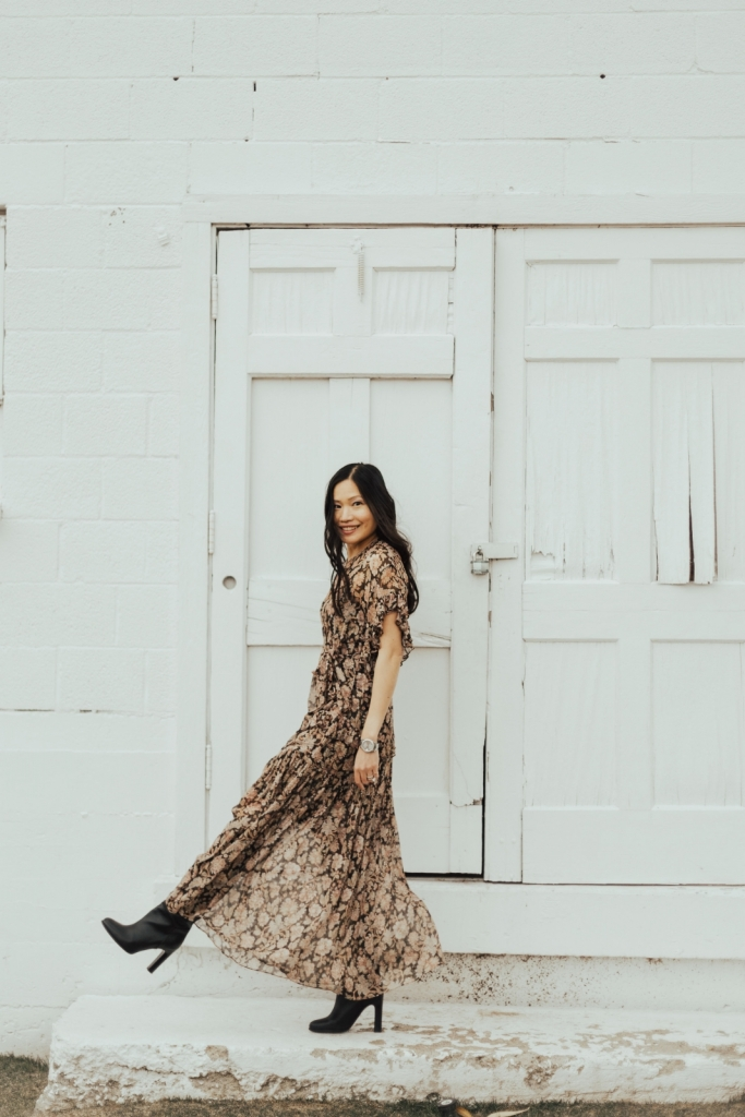 Zimmermann dress street style paris nyc park city fashion