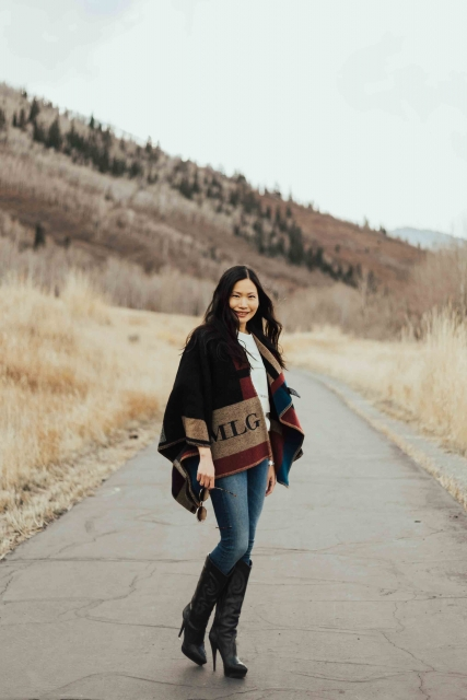 Park City Street Style Winter Ski Fashion Chloe Lanvin Burberry