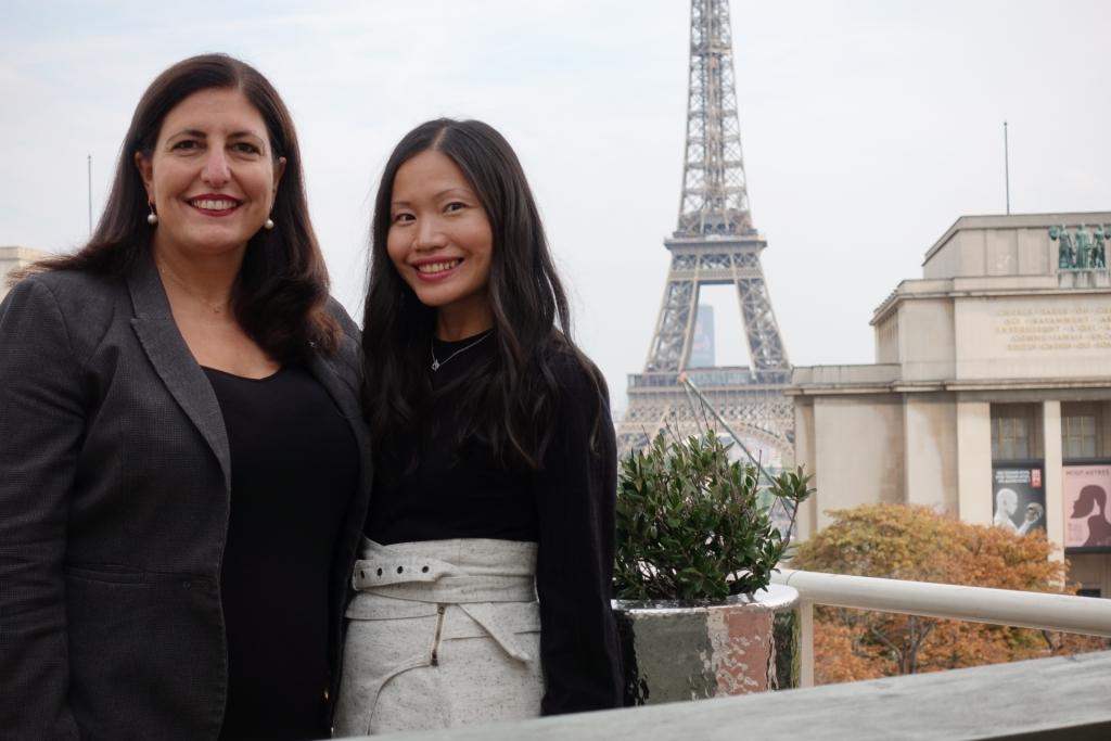 La Reserve Paris Apartements Review Eiffel Tower Michelle Greenip