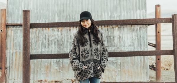 Park City Snapshots - In Cozy Grey Fleece